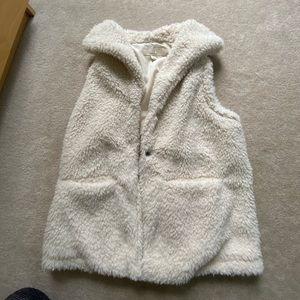 Sherpa fashion vest